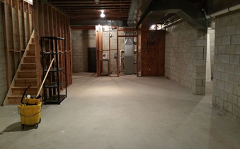 Basement Cleaning and Home Improvement Services