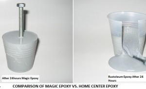 Magic Epoxy vs Home center Epoxy